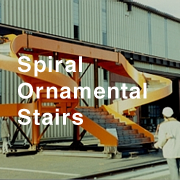Spiral Ornamental Stairs