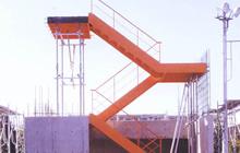 RC造建物用鉄骨階段